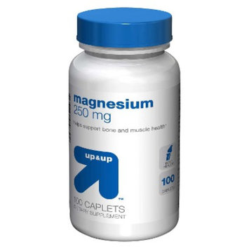 up & up up&up Magnesium 250 mg Caplets - 100 Count
