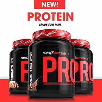 SHREDZ® Protein - Best Protein on the Market! Build Lean Muscle, Tone Physique (Cinnamon Bun, 60 Day Supply)