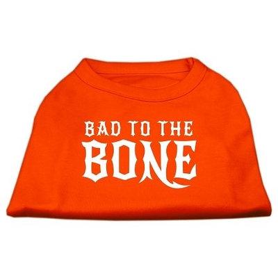Ahi Bad to the Bone Dog Shirt Orange Lg (14)