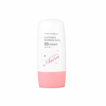 [TONYMOLY] Luminus Goddess Aura BB Cream SPF37 PA++ 45g (01 Bright Pink Beige)