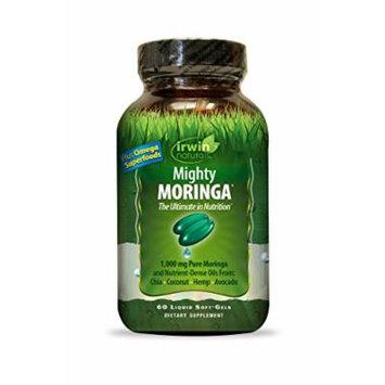 Irwin Naturals Mighty Moringa Diet Supplement, 1000mg, 60 Count