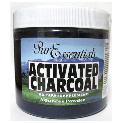 Pure Essentials Activated Charcoal Powder 8 Oz
