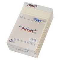 TOPS Prism Plus Colored Writing Pads - Ivory (50 Sheets Per Pad)