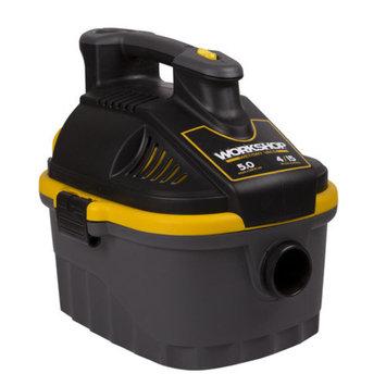 WORKSHOP Wet/Dry Vacs 4 Gal. 5.0 Peak HP Portable Wet/Dry Vac
