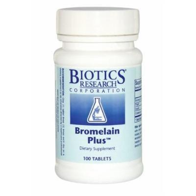 Biotics Research, Bromelain Plus (100T)