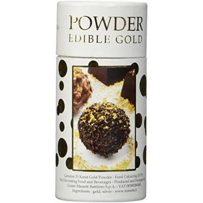 Genuine 23K Edible Gold Powder Shaker 125mg for Decorating Food and Beverages