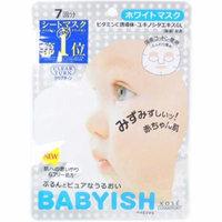 Kose Japan Clear Turn Babyish Whitening Face Mask (7 Sheets/83ml) - Award No.1