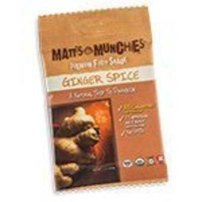Matt's Munchies Organic Ginger Spice Fruit Snack 12 pack