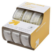up & up up&up Double-Sided Tape 3-pk. 1/2in x 250in