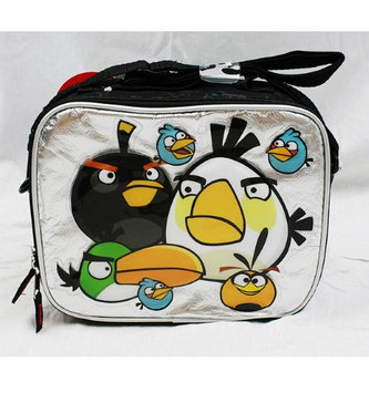 Animations Angry Birds lunch box lunch Bag Silver