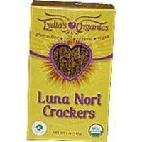 Lydia's Organics Raw Organic Lydia's Luna Nori Crackrers
