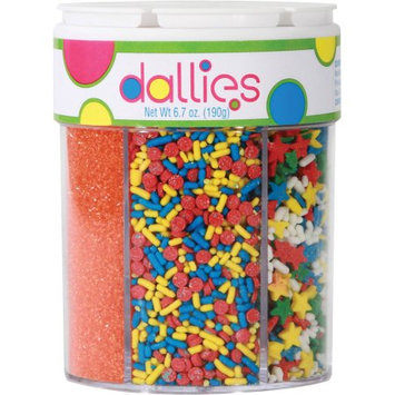 Xcell International Corp Dallies 6 in 1 Everyday Sugars, 6.7 oz
