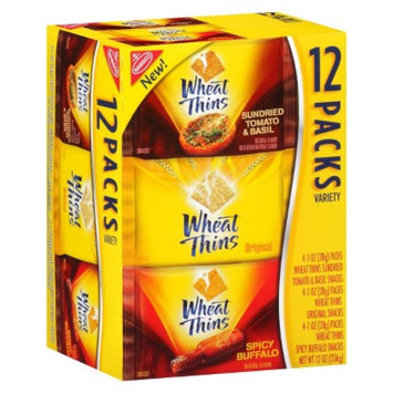 Wheat Thins Variety Crackers 12 pk