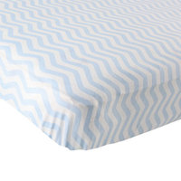 Baby Vision Luvable Friends Chevron Fitted Crib Sheet