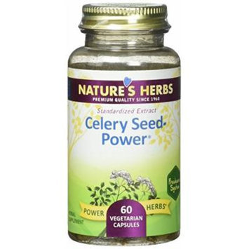 Nature's Herbs Zand, Celery Seed Power Capsule, 60 Count
