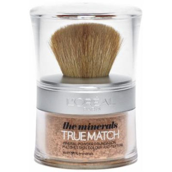 Loreal True Match the Minerals Powder Foundation - Golden Ivory (W1) 10g