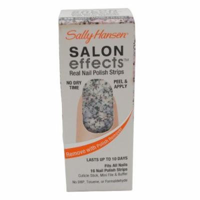 Sally Hansen Salon Effects Nail Strips - Sweet Marble Floret - 16 ct