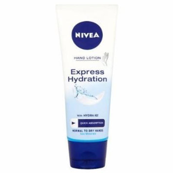 Nivea Express Hydration - Fast Absorbing Hand Lotion - For Normal to Dry Hands - Net Wt. 3.5 Oz (99 G)-pack of 2 (Stock up and Save)