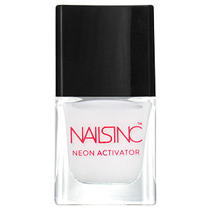 Nails Inc. Nails Inc Neon Activator White Base Coat, 14ml