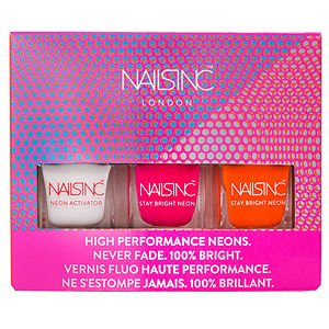 Nails Inc. Nails Inc High Performance Neons Never Fade Travel Collection