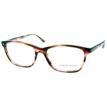 GIORGIO ARMANI Eyeglasses AR 7021 5165 Brushed Striped Pink 52MM