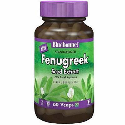 Bluebonnet Nutrition - Standardized Fenugreek Seed Extract 600 mg. - 60 Vegetarian Capsules