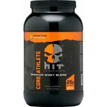 HIT Supplements Core Athlete Whey Protein Blend, Pound Cake