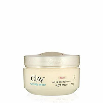 Olay Natural White Rich ALL in ONE Fairness Spot Remover Night Cream 50 G.