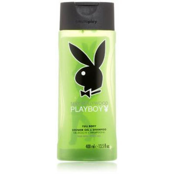 Playboy Body Wash, Hollywood, 13.5 Ounce