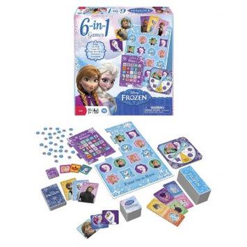 Disney Frozen 6 in 1 Games - Target Exclusive