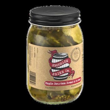 Brooklyn Brine Co. Maple Bourbon Bread & Butter Pickle Chips