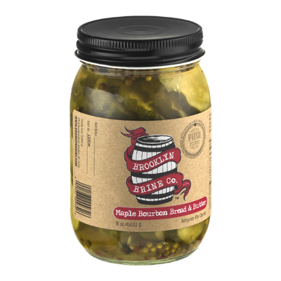 Brooklyn Brine Co. Maple Bourbon Bread & Butter Pickle Chips