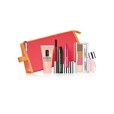 Clinique Color Cravings Makeup Set : Cosmetic Bag + Cosmetics