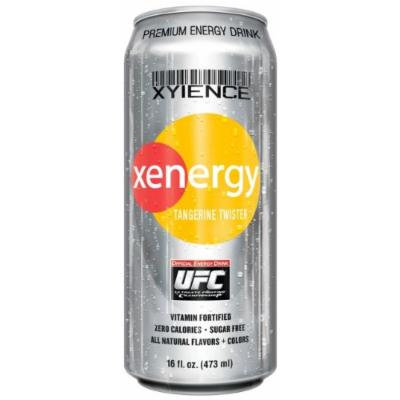 Xyience Xenergy Drink - 12 - 16 Fl. Oz. Cans - Tangerine