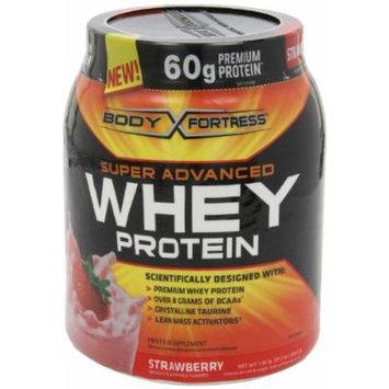 Body Fortress Super Advanced Whey Protein, Strawberry, 3.9 lb. (1770 g)