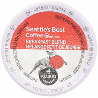 Seattle's Best Coffee Breakfast Blend K-cup 16 Packs (Pack of 2)