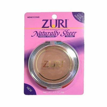 Zuri Naturally Sheer Pressed Powder W/ Free Nail File (Pack of 3) (Golden Ivory)
