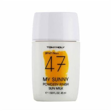 [Tonymoly] My Sunny Powdery Finish Sun Milk Spf47/ Pa++ -Korea Cosmetics