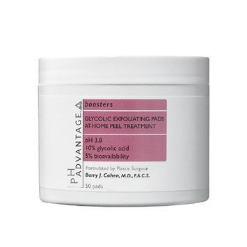 pH Advantage Glycolic Exfoliating Pads-50 ct