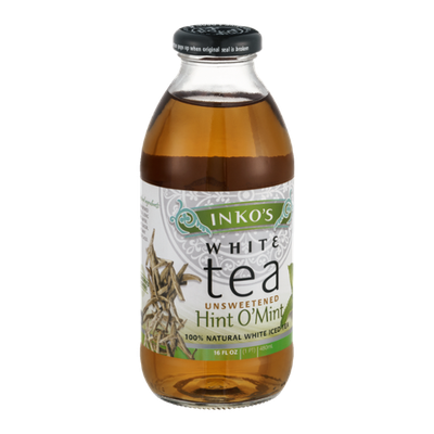 Inko's White Tea Unsweetened Hint O'Mint