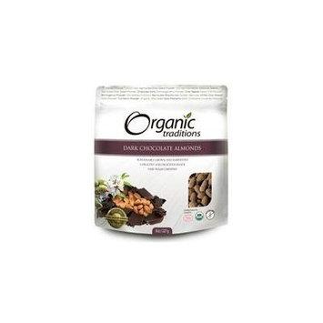 Organic Traditions Dark Chocolate Almond 8 oz