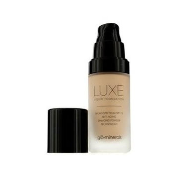 Glo Therapeutics Luxe Liquid SPF 15 Foundation, Naturelle, 1 Ounce