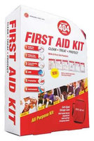 GENUINE FIRST AID 9999-2304 First Aid Kit, Fabric, Components