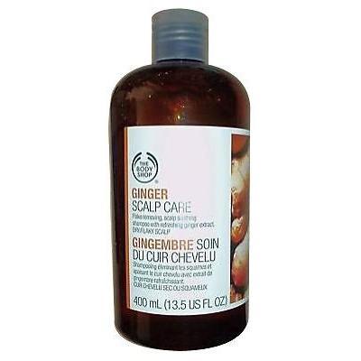 The Body Shop Ginger Scalp Care Shampoo Large 13.5oz - 3 Bottles
