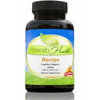 Bacopa Monniera , 375mg , 10:1 Extract 100 Capsules , Memory and Learning Supplement , Himalaya Brahmi