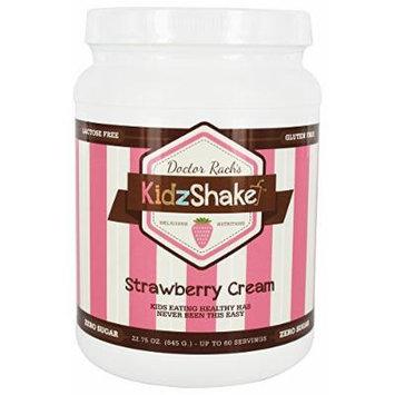 KidzShake - Nutritional Shake Strawberry Cream with plant-based vitamins and probiotics - 22.75 oz.