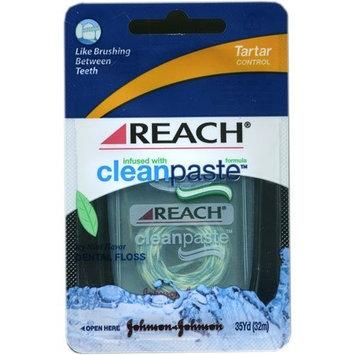 Reach CleanPaste Tartar Control Dental Floss, 35 Yd