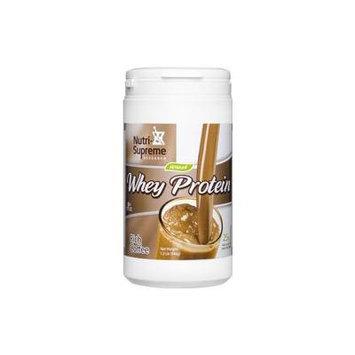 Nutri-Supreme Research Whey Protein Powder Rich Coffee Dairy Cholov Yisroel - 1.2 LB