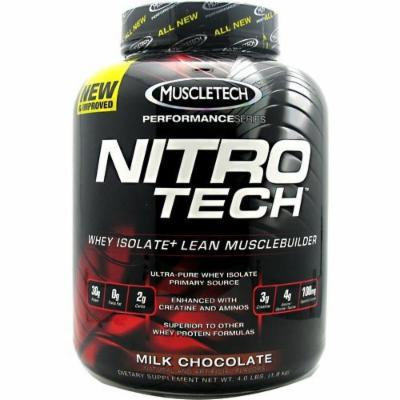 Muscletech Nitrotech Performance Series Chocolate, 4 Pounds