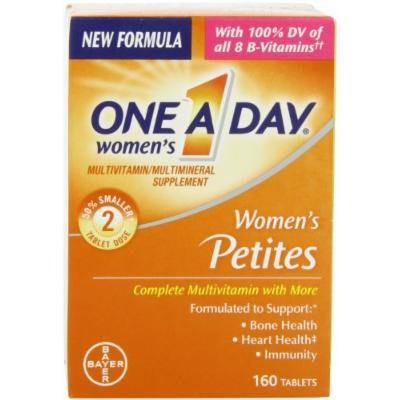 One-A-Day Multivitamin Supplement Women`s Petites Tablets 160 Ct (pack of 2)
